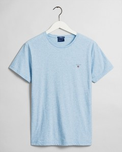 Gant Gant The Original T-Shirt T-Shirt Light Blue Melange