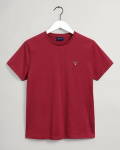 Gant Gant The Original T-Shirt T-Shirt Mahonie Rood