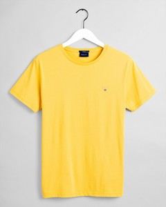 Gant Gant The Original T-Shirt T-Shirt Mimosa Yellow