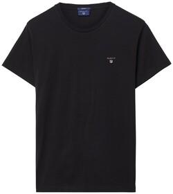 Gant Gant The Original T-Shirt T-Shirt Zwart