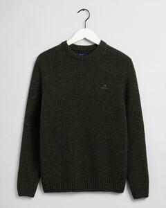 Gant Knit Crew Pullover Green