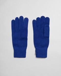 Gant Knitted Gloves Handschoenen Blauw