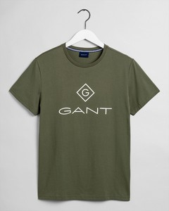 Gant Logo Diamond T-Shirt T-Shirt Four Leaf Clover