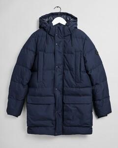 Gant Long Alta Down Jacket Jack Evening Blue