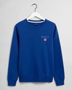 Gant Medium Shield C-Neck Sweat Pullover Blue