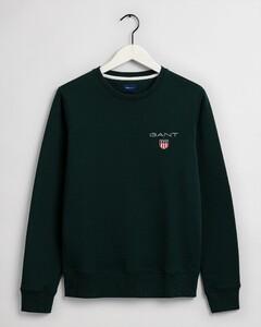 Gant Medium Shield C-Neck Sweat Pullover Green