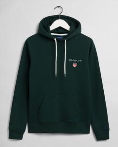 Gant Medium Shield Hoodie Pullover Green
