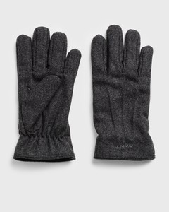 Gant Melton Gloves Handschoenen Antraciet Melange