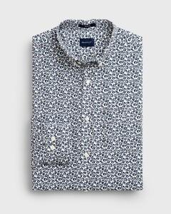 Gant Micro Floral Fantasy Shirt Eggshell