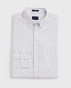 Gant Micro Sport Button Down Overhemd Wit
