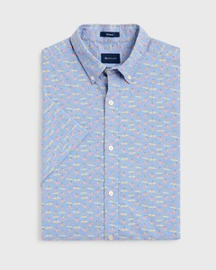 Gant Micro Surfer Shirt Capri Blue