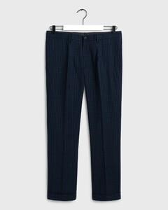 Gant Mini Check Pants Evening Blue