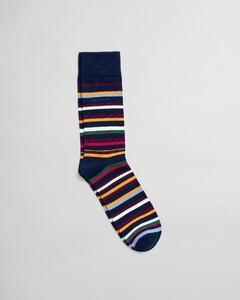 Gant Multi Stripe Sock Sokken Persian Blue