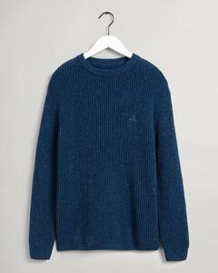 Gant Neps Rib C-Neck Pullover College Blue