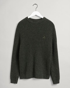 Gant Neps Rib C-Neck Pullover Green