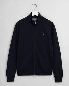 Gant Original Full Zip Cardigan Cardigan Evening Blue
