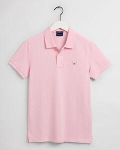 Gant Original Slim Piqué Short Sleeve Rugger Polo California Pink