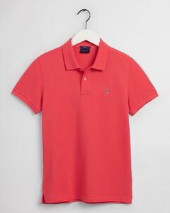 Gant Original Slim Piqué Short Sleeve Rugger Polo Paradise Pink