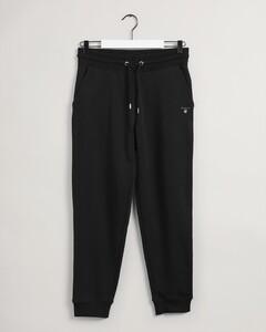 Gant Original Sweat Pants Fine Rib Nachtmode Zwart