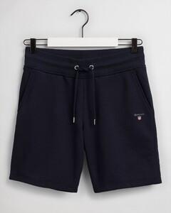Gant Original Sweat Shorts Nachtmode Avond Blauw