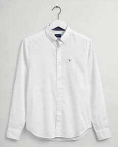 Gant Oxford Dobby Dot Overhemd Wit