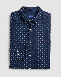 Gant Oxford Paisley Fantasy Overhemd Avond Blauw