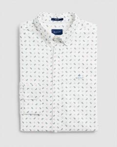 Gant Oxford Paisley Fantasy Shirt Eggshell