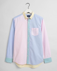 Gant Panel Shirt Button Down Overhemd Multicolor