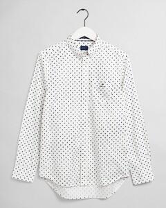 Gant Pinpoint Oxford Button Down Shirt Eggshell