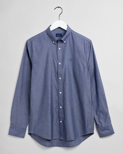 Gant Pinpoint Oxford Overhemd Persian Blue