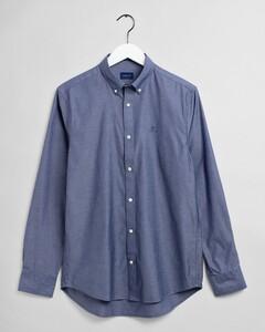 Gant Pinpoint Oxford Shirt Persian Blue