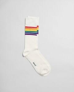 Gant Pride Fantasy Socks Eggshell
