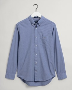 Gant Puppy Tooth Button Down Shirt College Blue