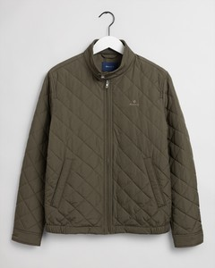 Gant Quilted Windcheater Jack Dark Leaf