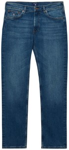 Gant Regular Straight Jeans Jeans Mid Blue Worn In