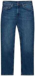 Gant Regular Straight Jeans Jeans Mid Blue Worn In