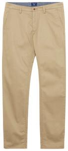 Gant Regular Twill Chino Pants Dark Khaki