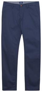 Gant Regular Twill Chino Pants Navy