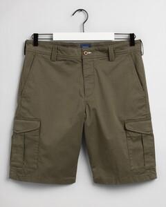 Gant Relaxed Twill Utility Shorts Bermuda Dark Leaf
