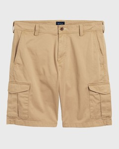 Gant Relaxed Twill Utility Shorts Bermuda Donker Khaki