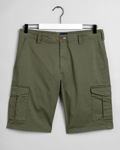 Gant Relaxed Twill Utility Shorts Bermuda Four Leaf Clover