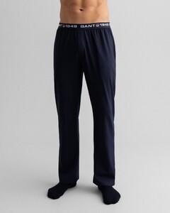 Gant Retro Shield Jersey Pants Nachtmode Avond Blauw