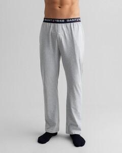Gant Retro Shield Jersey Pants Nachtmode Licht Grijs