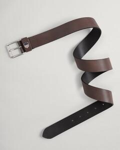 Gant Retro Shield Leather Belt Riem Delicioso Brown