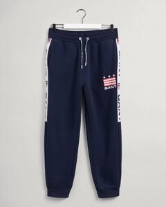 Gant Retro Shield Sweat Pants Nightwear Evening Blue