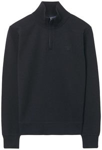 Gant Rib Half Zip Pullover Navy