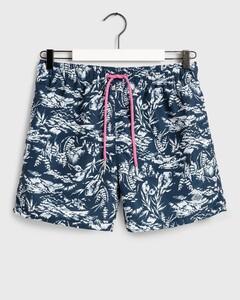 Gant Riviera View Swim Shorts Swim Short Insignia Blue