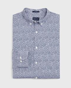 Gant Rose Dot Shirt Overhemd College Blue