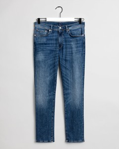 Gant Slim Active Recover Jeans Jeans Mid Blue Broken In