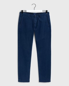 Gant Slim Canvas Chino Pants Marine